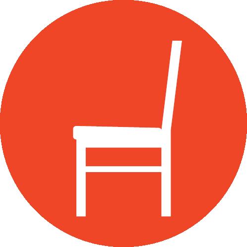 Feste Sitzplätze